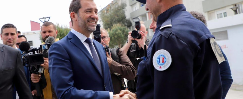 Christophe Castaner à Toulon pour sa conférence de presse, le vendredi 3 mai 2019