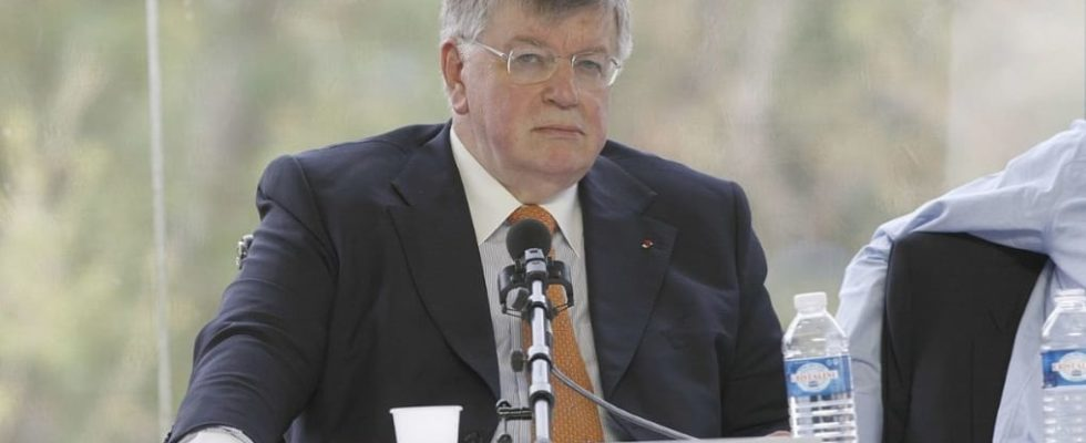 Didier Lombard, ex PDG de France Télécom (Orange)