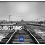 Un chemin de fer par lequel se faisait la déportation massive des juifs pendant la seconde guerre mondiale
