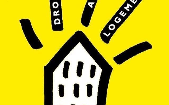 Logo de l'association Droit au logement