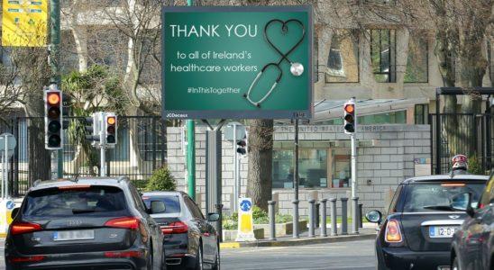 Un panneau publicitaire déployé par JCDecaux en Irland.
