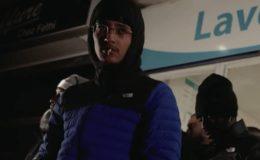 Le rappeur Freeze Corleone dans un clip.